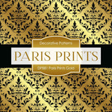 Paris Prints Gold Digital Paper DP881 - Digital Paper Shop - 4