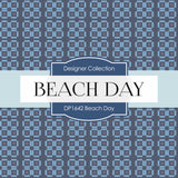 Beach Day Digital Paper DP1642 - Digital Paper Shop - 4