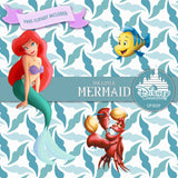 The Little Mermaid Digital Paper DP3029 - Digital Paper Shop - 5