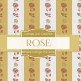 Cottage Chic Rose Digital Paper DP2424 - Digital Paper Shop - 4
