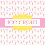 Ice Cream Digital Paper DP1612 - Digital Paper Shop - 4