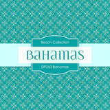 Bahamas Digital Paper DP263 - Digital Paper Shop - 4