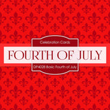 Basic Fourth Of July Digital Paper DP4028A - Digital Paper Shop - 4