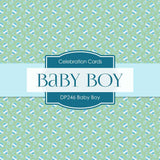 Baby Boy Digital Paper DP246 - Digital Paper Shop - 4