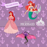 The Little Mermaid Digital Paper DP3030