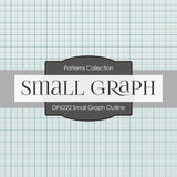Small Graph Outline Digital Paper DP6222B