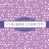 Colorful Confetti Digital Paper DP132 - Digital Paper Shop - 4
