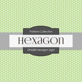 Hexagon Light Digital Paper DP6280A