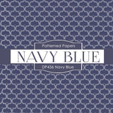Navy Blue Digital Paper DP436 - Digital Paper Shop - 2