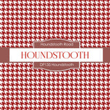 Houndstooth Digital Paper DP135 - Digital Paper Shop - 2