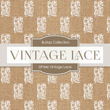 Vintage Lace Digital Paper DP446 - Digital Paper Shop - 2