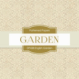 Engilsh Garden Digital Paper DP438 - Digital Paper Shop - 2