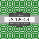 Octagon Solid Medium Digital Paper DP6260A