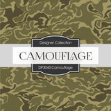 Camouflage Digital Paper DP3043 - Digital Paper Shop - 4