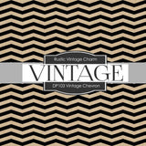 Vintage Chevron Digital Paper DP103 - Digital Paper Shop - 2