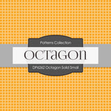 Octagon Solid Small Digital Paper DP6262A