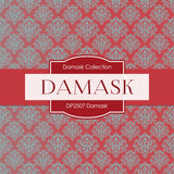 Damask Digital Paper DP2507 - Digital Paper Shop - 2