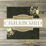 Chalkboard Texture Digital Paper DP3781 - Digital Paper Shop - 2