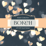 Heart Bokeh Digital Paper DP1059 - Digital Paper Shop - 2