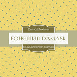 Bohemian Damask Digital Paper DP426 - Digital Paper Shop - 2