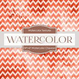 Water Color Chevron Digital Paper DP147 - Digital Paper Shop - 2