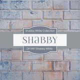 Shabby White Digital Paper DP1997 - Digital Paper Shop - 3