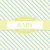 Baby Boy Digital Paper DP2473 - Digital Paper Shop - 3