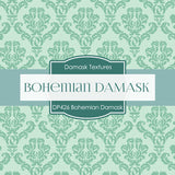 Bohemian Damask Digital Paper DP426 - Digital Paper Shop - 3