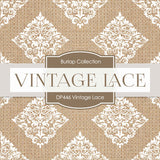 Vintage Lace Digital Paper DP446 - Digital Paper Shop - 3