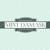 Minty Damask Digital Paper DP431 - Digital Paper Shop - 4