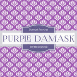 Purple Damask Digital Paper DP448 - Digital Paper Shop - 3