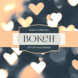 Heart Bokeh Digital Paper DP1059 - Digital Paper Shop - 3