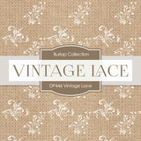 Vintage Lace Digital Paper DP446 - Digital Paper Shop - 4