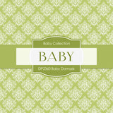 Baby Damask Digital Paper DP2360 - Digital Paper Shop - 4