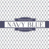 Navy Blue Digital Paper DP436 - Digital Paper Shop - 3