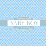 Baby Boy Digital Paper DP433 - Digital Paper Shop - 4