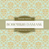 Bohemian Damask Digital Paper DP426 - Digital Paper Shop - 4