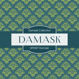Damask Digital Paper DP2507 - Digital Paper Shop - 3
