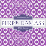 Purple Damask Digital Paper DP448 - Digital Paper Shop - 4