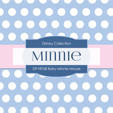Baby Minnie Mouse Digital Paper DP1876B - Digital Paper Shop - 2