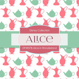 Alice In Wonderland Digital Paper DP4907C - Digital Paper Shop - 2