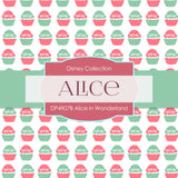Alice In Wonderland Digital Paper DP4907C - Digital Paper Shop - 4