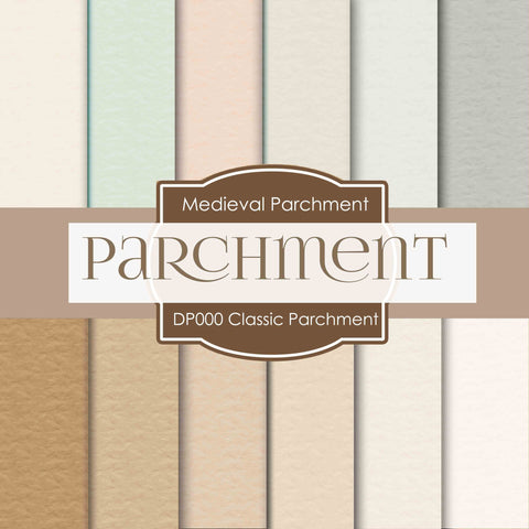 Classic Parchment Digital Paper DP000 - Digital Paper Shop - 1