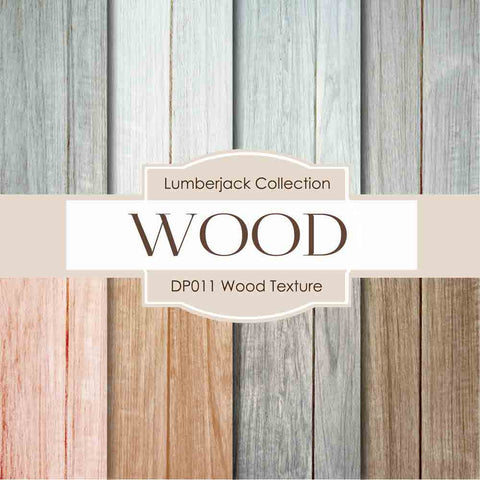 Wood Textures Soft Digital Paper DP011 - Digital Paper Shop - 1