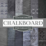 Chalkboard Tribal Digital Paper DP048 - Digital Paper Shop - 1