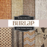 Burlap Textures Digital Paper DP061 - Digital Paper Shop - 1