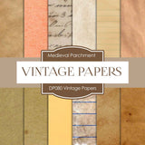 Vintage Papers Digital Paper DP080 - Digital Paper Shop - 1