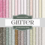 Spring Glitter Digital Paper DP1042 - Digital Paper Shop - 1