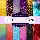Pastel Glitter Digital Paper DP1062 - Digital Paper Shop - 1