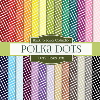 Polkadots Digital Paper DP121 - Digital Paper Shop - 1